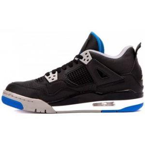 Nike Chaussure Air Jordan 4 Retro pour Garçon plus âgé - Noir Taille 36.5