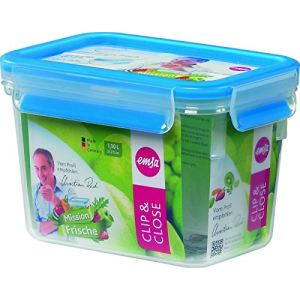 Emsa 508541 - Boîte alimentaire Clip and Close 3D (1,1 L)