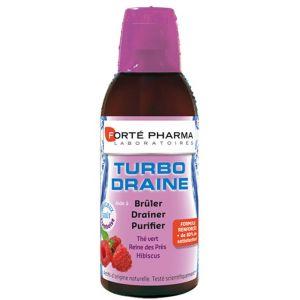 Forté pharma Turbodraine minceur goût framboise