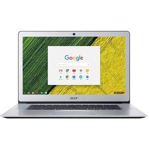 "Acer Chromebook CB515-1HT-P80X PC Portable Tactile 15"" FHD Silver (Intel Pentium, 4 Go de RAM, SSD 32 Go, Chrome OS)"