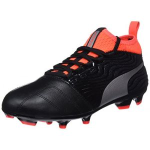 premium selection 51973 aacc1 Image de Puma One 18.3 FG Jr, Chaussures de Football Mixte Enfant, Noir  Black