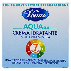 Venus Aqua 24 - Crema Idratante Multi Vitaminica 7 Vitamine - 50 ml