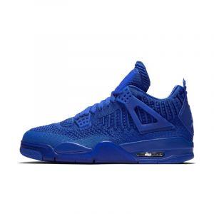 Nike Chaussure Air Jordan 4 Retro Flyknit pour Homme - Bleu - Taille 39 - Male