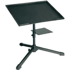 Adam Hall SLT004 - Support pour ordinateur portable avec tablette pour DJ
