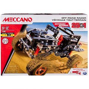 Meccano 6037616 - Tout-Terrain Motorisé 25 modèles