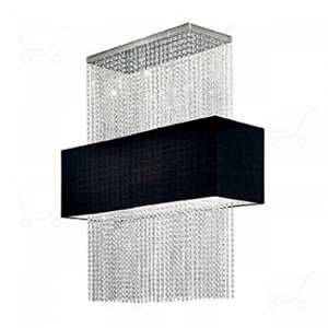 Ideal lux Suspension PHOENIx Noir 5x60W - 101163