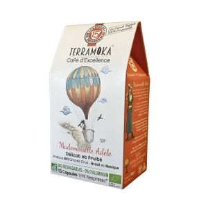 Terramoka Café Adèle x15 caps - Brésil et Mexique
