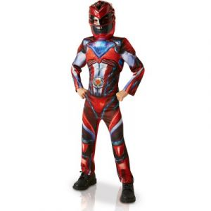 Rubie's Déguisement Luxe Power Rangers Movie Rouge : 7-9 ans