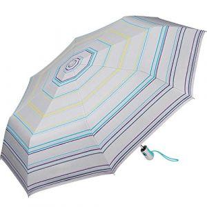 Esprit Parapluie pliant gris à rayures