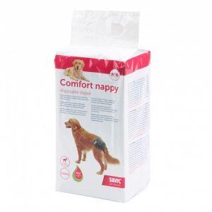 Savic Set de 12 Couches pour Chien Style Comfort Nappy Taille 6
