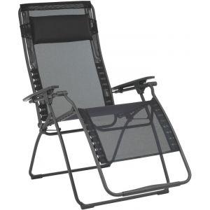 Lafuma Mobilier Futura XL - Siège camping - Batyline noir Chaises pliantes