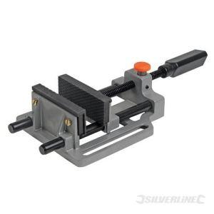 Silverline 380956 - Etau pour perceuse à dégagement rapide 100 mm
