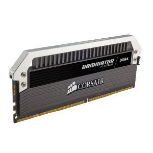 Corsair CMD16GX4M4C3200C15 - Barrette mémoire Dominator Platinum 16 Go (4x 4 Go) DDR4 3200 MHz CL15