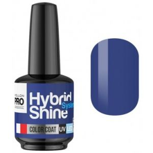 Mollon Pro Blue Ecstasy 2/130 - Mini vernis semi-permanent Hybrid Shine