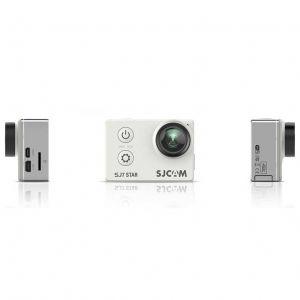 SJCAM Caméras d'action SJ7 Star blanc