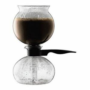 Bodum 1208-01 - Cafetière à dépression Pebo (8 tasses)