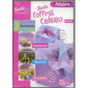 Coffret Barbie Aventure : Agent Secret, Sauve Les Animaux, Les Vacances Mystérieuses [PC]