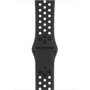 Apple Watch Bracelet Sport Nike Anthracite/Noir (44 mm) - S/M et M/L