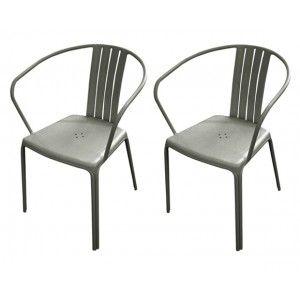 Proloisirs Azuro - 2 fauteuils de jardin