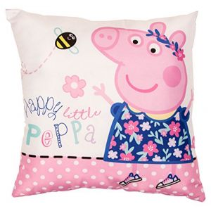 Character World Coussin carré réversible Peppa Pig