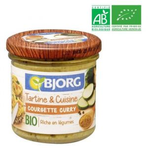 Bjorg Tartine et Cuisine Courgette Curry Bio 135g