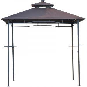 Outsunny Tonnelle abri barbecue