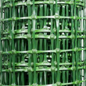Grillage plastique vert 1,5 x 10 m