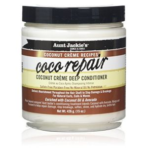 Aunt Jackie's Coco Repair - Coconut Crème Deep Conditioner