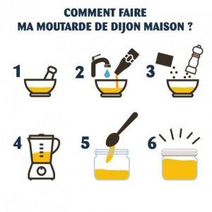 Radis et capucine Je fabrique moi-même ma moutarde de Dijon BIO
