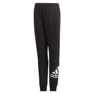 Adidas Boy´s MustHave Badge of Sport Pants - Pantalon de training taille 164, noir/blanc