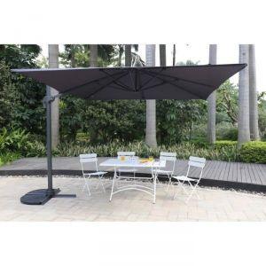 parasol rectangulaire deporte comparer 56 offres. Black Bedroom Furniture Sets. Home Design Ideas