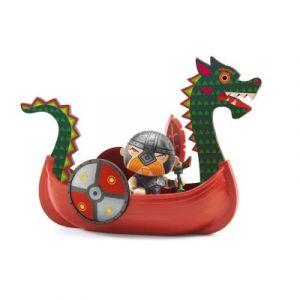 Djeco Figurine Arty Toys Drack et Ze drakkar