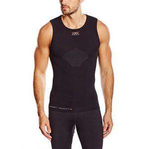 X-Bionic Pantalon sous-vêtement de sport pour adulte invent uW light maillot sans manches pour homme SMALL Noir - Noir/Anthracite