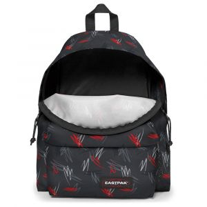 Eastpak Padded PAK'R Sac à Dos Loisir, 40 cm, 24 liters, Multicolore (Scribble Black)