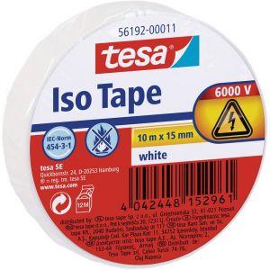 Tesa Ruban isolant 56192-11-02 blanc (L x l) 10 m x 15 mm 1 rouleau(x)