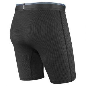 Saxx Underwear Vêtements intérieurs Quest 2.0 Long Leg Fly - Black - Taille XL