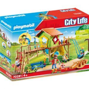 Playmobil City Life Figurine parc de jeux 70281