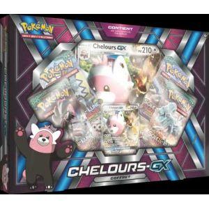 Asmodée Coffret Pokémon Soleil & Lune Chelours GX