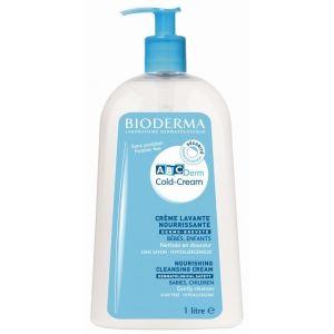 Bioderma ABCDerm - Cold-Cream crème lavante nourrissante - 1 L