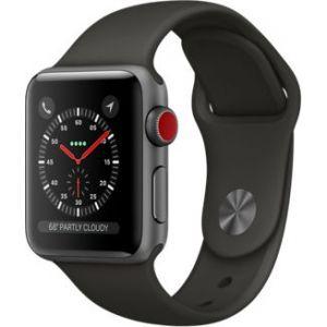 Apple Watch 38mm Series 3 GPS Cellulaire - Boîtier Alu avec bracelet sport ou boucle Sport