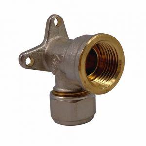 Quick Plomberie Coude applique à compression pour tube multicouche
