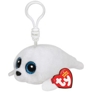 Ty 36624 - Peluche - Beanie Boo's Clip - Icy Le Phoque