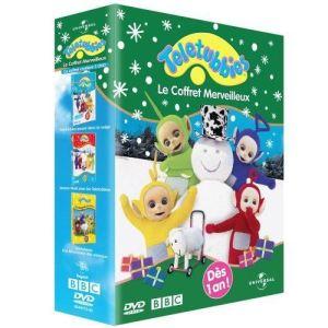 Coffret Teletubbies Merveilleux - Joue dans la neige + Joyeux Noël + A la découverte des animaux