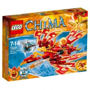 Lego 70221 - Legends of Chima : L'ultime Phoenix de feu