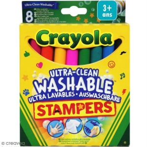 Crayola 8 Mini Stampers ultra-lavables