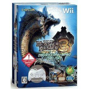 Monster Hunter 3 + Classic Controller [Wii]
