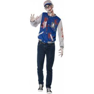 Déguisement zombie sportif adolescent Halloween
