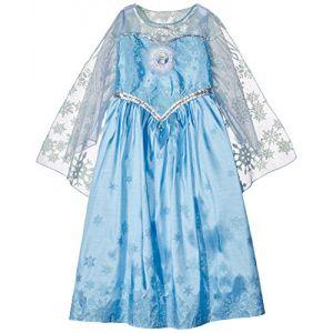 Rubie's Déguisement Elsa Frozen La Reine des Neiges deluxe fille