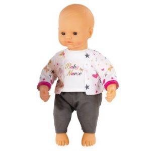 Smoby Poupon Baby Nurse bébé d'amour 32 cm