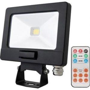 Lumihome Projecteur LED extérieur SLIM-10DE 10W noir